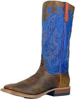 Horse Power Men's Cognac Filet of Fish Western Boot - Hp1823