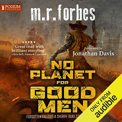 No Planet for Good Men: A Sheriff Duke Story audiobook cover art
