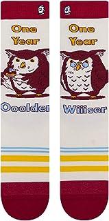 BooSocki Older Wiser Owl Happy Birthday جوارب طاقم للجنسين