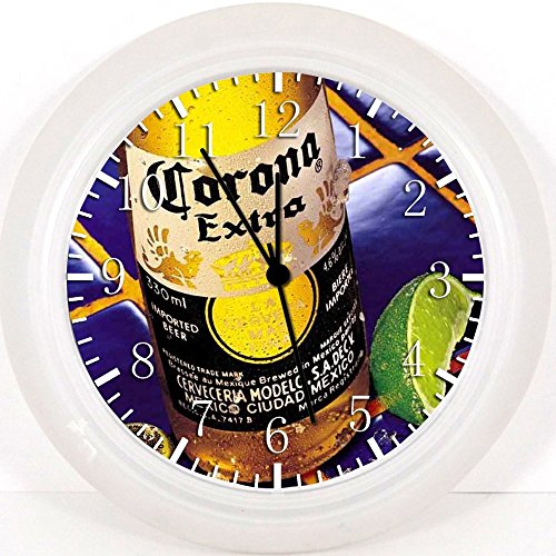 Wanduhr Z06, Motiv Corona Bier, 25,4cm