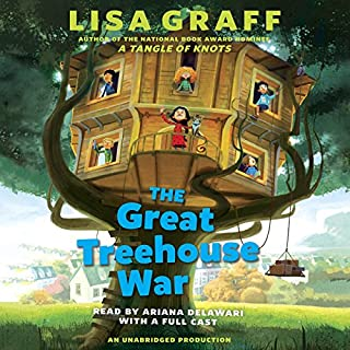 The Great Treehouse War audiobook cover art