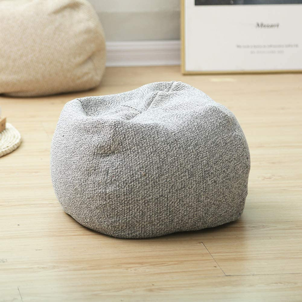 Spherical Overseas parallel import regular item Hand High order Woven Pouf Unstuffed Bohemia Cover Home