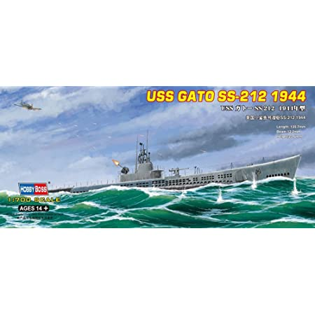 /Submarine OS2U Kingfisher Float Plane /1944/Model Kit USS Gato Fleet SS/ Riich Models RS20002/