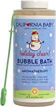 product image for California Baby Holiday Bubble Bath. No Tear, Pure Essential Oils for Bathing. Hot Tubs, or Spa Use Friendly. Moisturizing Organic Aloe Vera and Calendula Extract (13 Ounces)