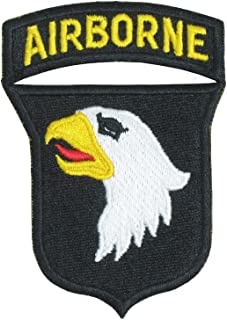 Reproduction World War 2 101st Airborne Screaming Eagles with Red Tongue Patch