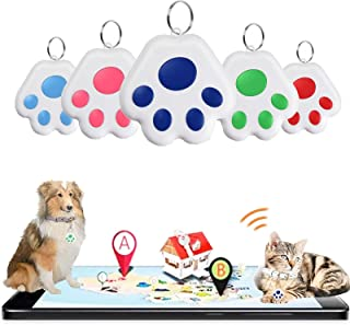 $25 » JGUSVYT Wireless Locator Tags Smart Bluetooth Key Finder GPS Mini Item Tracker Beeper Alarm Tracking Devices Easy to Use...