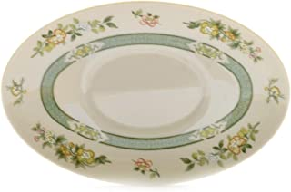 Royal Doulton Tonkin White Green Gravy Underplate - Plate only
