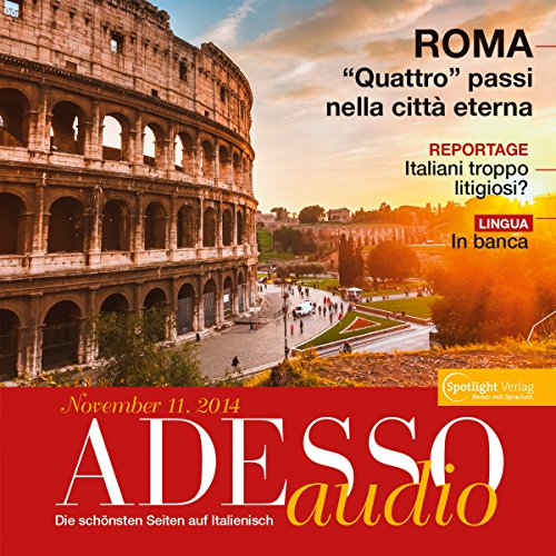ADESSO Audio - In banca. 11/2014     Italienisch lernen Audio - Auf der Bank              By:                                                                                                                                 div.                               Narrated by:                                                                                                                                 div.                      Length: 58 mins     Not rated yet     Overall 0.0
