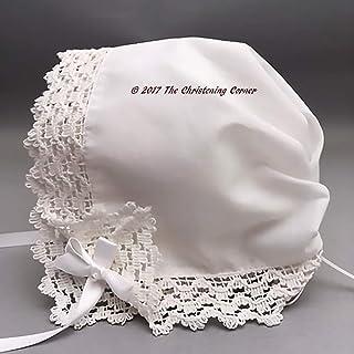 Country Abbey Lace Keepsake Handkerchief Bonnet