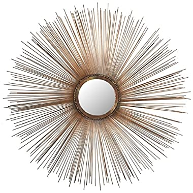 Safavieh Home Collection Sunburst Mirror, Copper