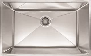 Franke PEX110-31 Sink, 31.5-inch, Stainless Steel