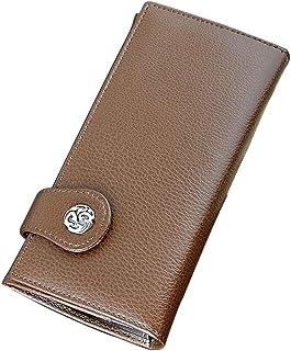 【一流の牛革を使用】長財布 ロングウォレット メンズ 革財布