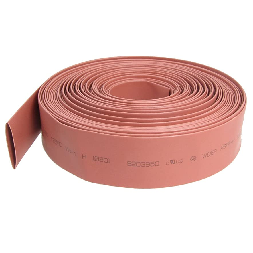 パリティリル有限uxcell 熱収縮チューブ チューブスリーブシュリンク 電気絶縁性 20mm直径