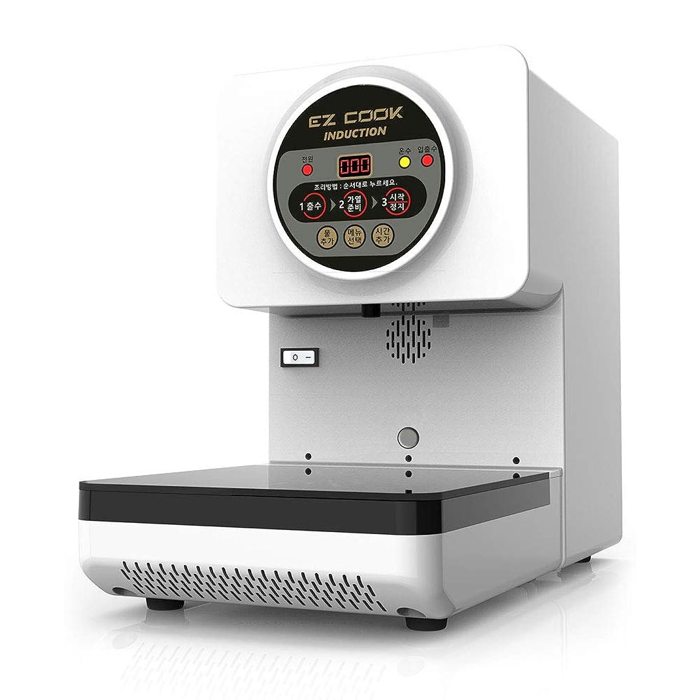 仲間階交換CAN EZ COOK 韓国式 インスタント ラーメン 用 自動調理機 即席 韓国 漢江 麺 自動 調理 マシン 220V [並行輸入品]