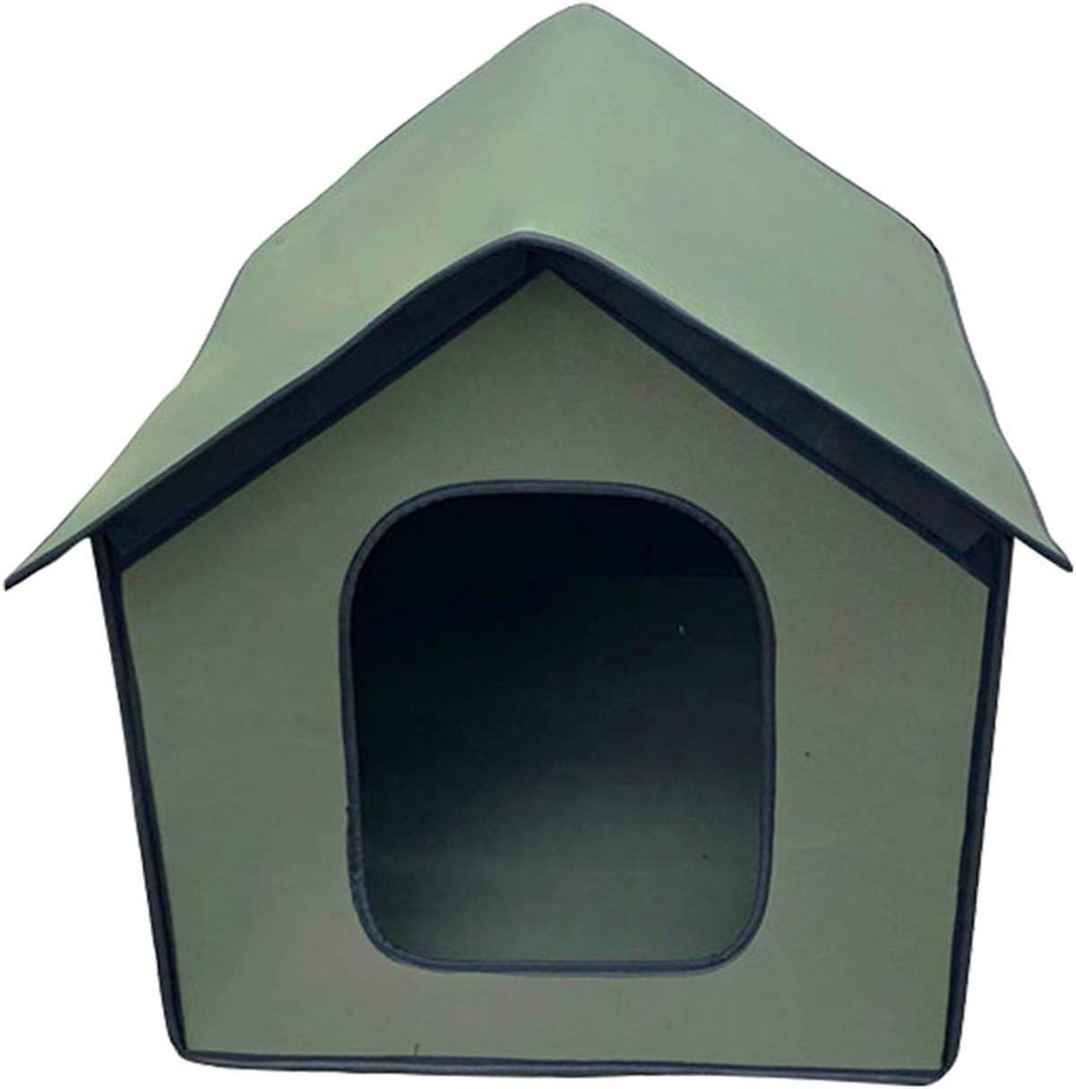 Feral Cat House Foldable Kitty House Cat Shelter for Pets Waterproof Pet Outdoor Cat House