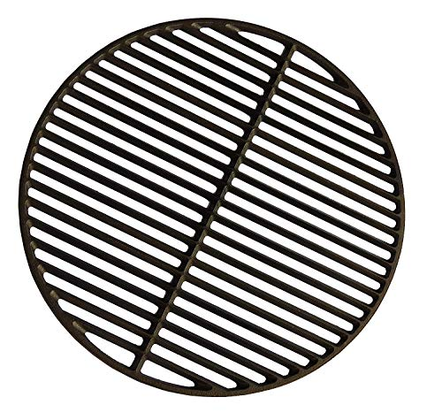 Big Green Egg Cast Iron Dual Side Grid for Large...
