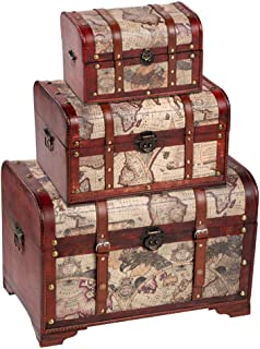 decorative stacking trunks