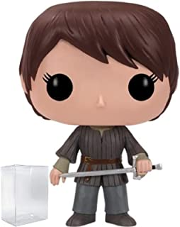 Game of Thrones: Arya Stark Funko Pop! Vinyl Figure (Includes Compatible Pop Box Protector Case)