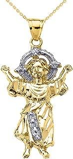 baby jesus pendant gold