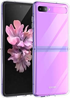 Olixar Case for Samsung Galaxy Z Flip, Clear - Shockproof Transparent Bumper Cover - Hard Slim Frame with Drop Protection...