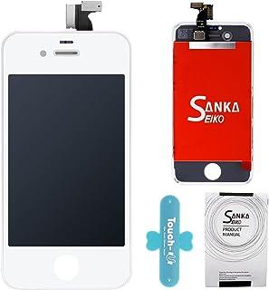 40b0244cfec SANKA LCD Pantalla Táctil con Marco de Digitalización Asamblea Pantalla de  Recambio para iPhone 4S -