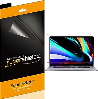 (3 Pack) Supershieldz Designed for Apple MacBook Pro (16 inch) 2019-2021 Screen Protector, Anti Glare and Anti Fingerprint...