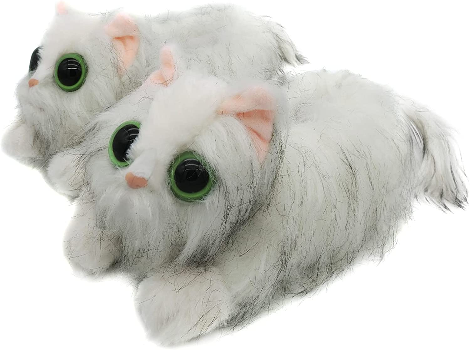 Indoor Fuzzy Winter Animal Cat Topics on TV Plush Slippers for Kitty Clearance SALE! Limited time! Men Soft
