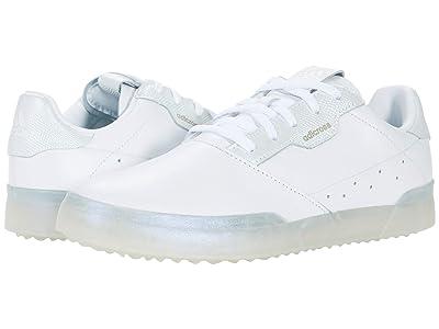 adidas Golf Adicross Retro (White/White/Clear Mint) Women