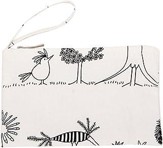 Willlly Willlly 1 Stucke Reißverschluss Geldborse Damen Chic Brieftasche Kosmetiktasche Segeltuch Hahnchen Muster Munzen Beutel Munzborse Fur Frauen Kind Color : Colour, Einheitsgröße : Einheitsgröße