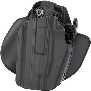 Safariland 578 7TS GLS Pro-Fit, Standard Frame, Compact Slide, Paddle & Belt Loop Holster, Plain Black, Left Hand