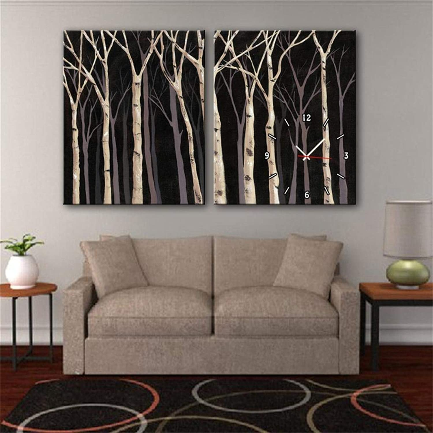 ChuanHan Modern Style Canvas Painting Grove in Canvas 2Pcs
