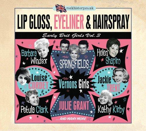 Lip Gloss, Eyeliner & Hairspra