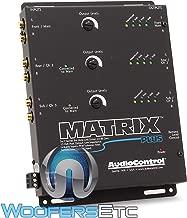 AudioControl Matrix Plus Black Six Channel Line Driver with Remote Level Control Input