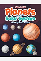Planets in Our Solar System - Coloring Book Edition Paperback