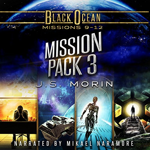 Black Ocean Mission Pack 3 audiobook cover art
