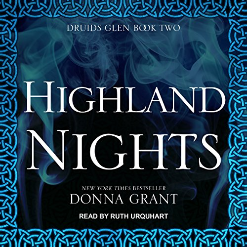 Highland Nights audiobook cover art