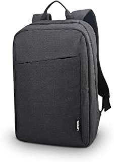 Casual Laptop Backpack From Lenovo, 15.6 inch Black - GX40Q17225