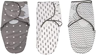 MagiDeal 3PCS Newborn Cotton Swaddle Blanket Infant Sleeping Bag Swaddle Wrap Gift
