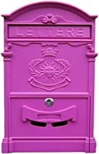 Weerbestendig buiten postbus, brievenbussen voor buiten wandgemonteerde vergrendelde brievenbus decoratieve outdoor brieve...