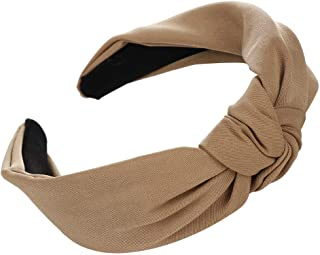 Women Knot Healdband Bow Hair Band Facial Head Wrap Yoga Sport Shower Headband for Girls