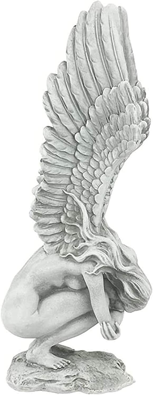 Memphis Mall Popular product BKCYL Garden Statue Ornaments Wi Sculpture Angel Creative