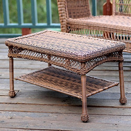 Jeco All-Weather Wicker Resin Outdoor Patio...