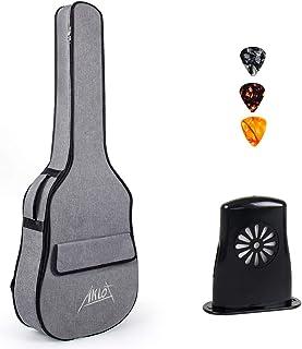 "AKLOT Guitar Gig Bag Carry Handle Case for 41"" 40"" Acoustic Guitars 12MM Padding"