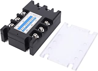 Relay, Relay Panel 3 Phase Solid State Relay, for Food Machinery Textile Machinery Packaging Machinery Petrochemical Equip...