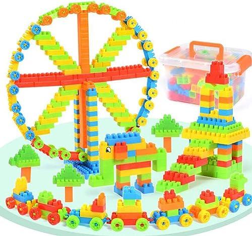 Con 100% de calidad y servicio de% 100. YK GAME Creativo Puzzles Infantiles Rompecabezas DIY DIY DIY Lucha Creativa para Construir Juguetes de plástico,208smallparticles  ahorrar en el despacho