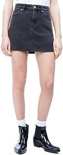 Calvin Klein Jeans Mini Skirt for Women, Size 28 EU, Black