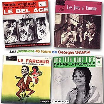 Les premiers super 45 tours de Georges Delerue (The first Georges Delerue's EPs)