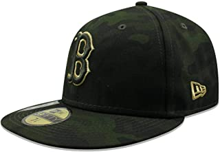 New Era Boston Red Sox 2019 MLB Armed Forces Day On-Field 59FIFTY Fitted Hat - Camo