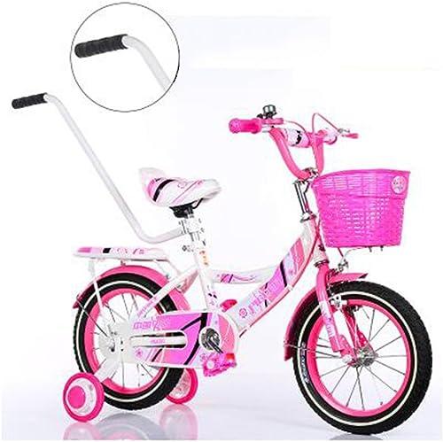 Todos los productos obtienen hasta un 34% de descuento. Bicicletas Duo niñas con con con Cesta, niñas de 12, 14, 16 o 18 Pulgadas con Ruedas de Entrenamiento, Regalos para Niños, niñas  tienda de venta en línea