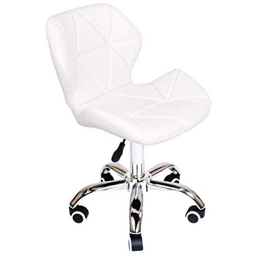 Genial Charles Jacobs Dining/Office Swivel Chair With Chrome Legs With Wheels And  Lift   Choice